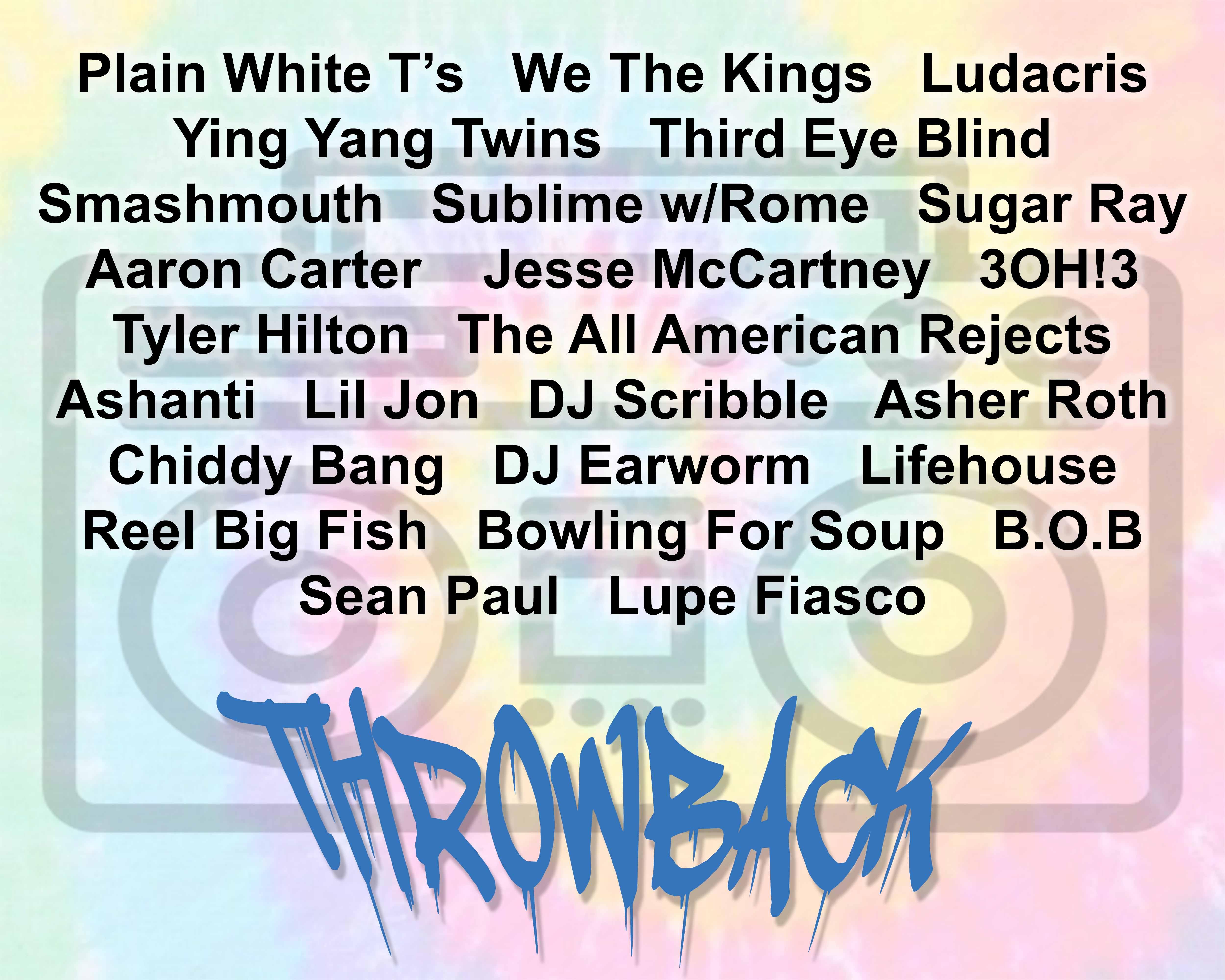 Throwback Concert