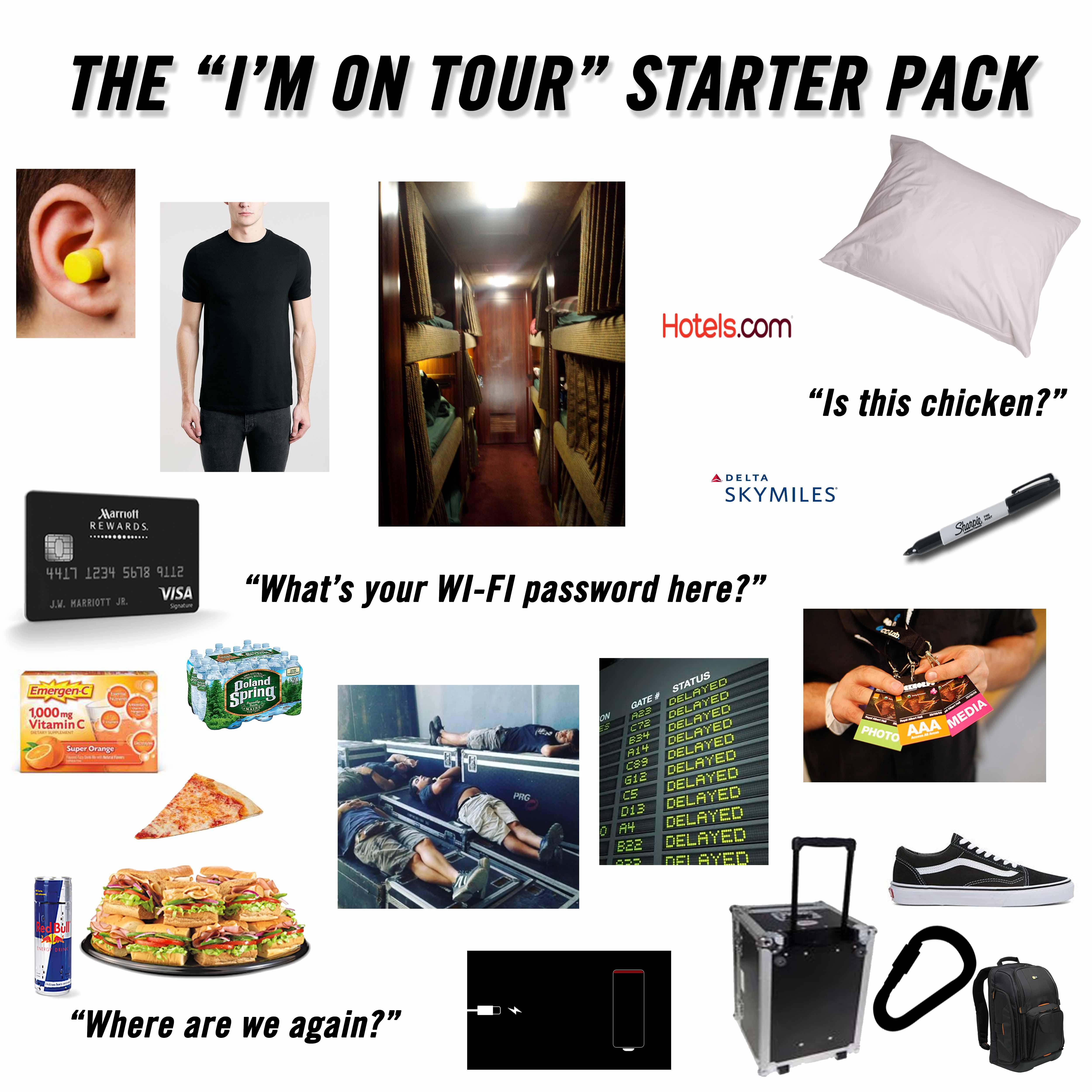 on tour meme
